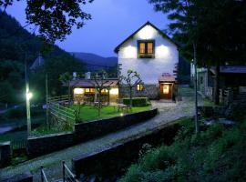 Hotel Rural Besaro - Selva de Irati, hotel in Izalzu