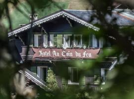 Au Coin Du Feu, отель в Межеве