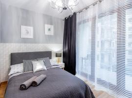 ClickTheFlat Sienna Center Apart Rooms, nakvynės su pusryčiais namai Varšuvoje