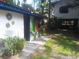 Hostel Terra das Tribos, hostel in Ubatuba