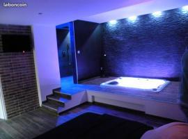 chambre romantique avec spa privatif, hotel in Ferrière-la-Grande