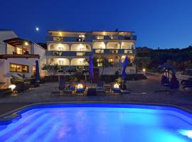 Apartments Silva, hotel with pools in Trogir
