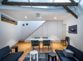 Spacy Artist Studio in Central Gent, vakantiewoning in Gent