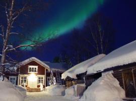 LAURI Historical Log House Manor, loma-asunto Rovaniemellä