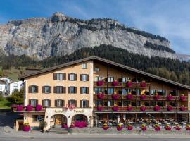 Hotel Vorab - Kulinarische Vielfalt, отель во Флимсе