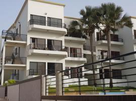 Relax waterfront Serviced Apartment, hotel near 1st Gambian Cart Racing Track, Bijilo