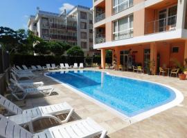 Hotel Darius, отель в городе Солнечный Берег