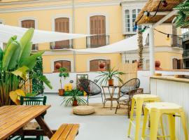 The Urban Jungle Hostel, hostelli Malagassa