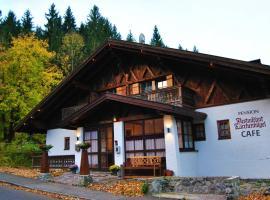 Landhotel Lärchenhügel, ski resort in Oberammergau