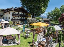 Ferienhotel Lindenhof, hotel in Leogang