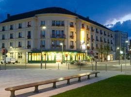 Grand Hôtel Terminus Reine, hotel v destinaci Chaumont