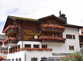 Hotel Postigliun, hotel in Sedrun