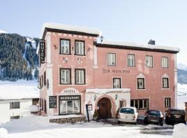 Hotel Alte Post, hotel in Davos