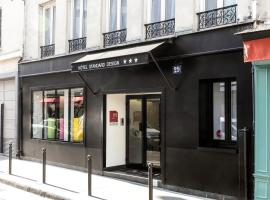 Hotel Standard Design, hotel near Roquette Street, Paris