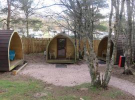 Glenmore Glamping Pods, hotel near CairnGorm National Park, Aviemore