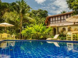 Pousada Villa Bahia, spa hotel in Trancoso