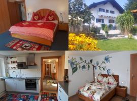 Anita's Ferienwohnung nahe Neuschwanstein, Hotel in der Nähe von: Bahnhof Reutte in Tirol, Reutte