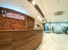 Skandinavia Hotel, hotel in Cherepovets