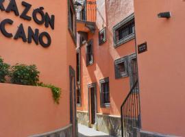 Hotel Corazon Mexicano, отель в городе Гуанахуато