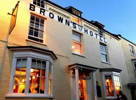 The Brown's Hotel, hotel v destinaci Laugharne
