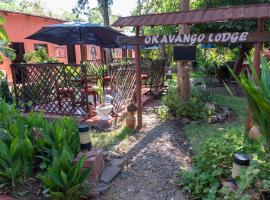 Okavango Lodge, hotel in Livingstone