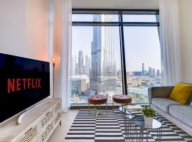Burj Vista with Best View in Downtown by GuestReady, hôtel à bas prix à Dubaï
