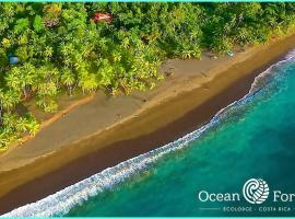 Ocean Forest Ecolodge Retreat, hotel en Drake