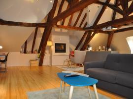 Clos St Eusebe en coeur de ville, apartment in Auxerre