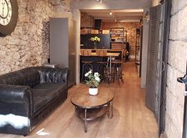 Loft Déco tout confort au coeur du quartier Haut, apartment in Sète