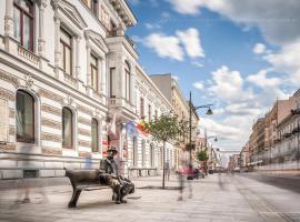 Royal Aparthotel Piotrkowska 116 – obiekty na wynajem sezonowy w Łodzi