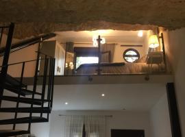 Un Rincón en la Roca, villa in Setenil