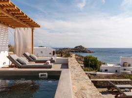 Trinity Mykonos - Villa & Beachfront Boutique Hotel, hotel in Platis Gialos
