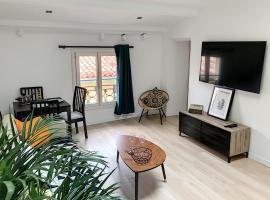 Mairie / Marché: confortable 2P, bien équipé, tout à pieds, self catering accommodation in Antibes