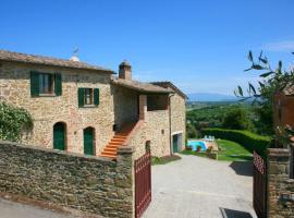 Santa Barbara-Miniera Villa Sleeps 8 Pool WiFi, villa in Monte San Savino