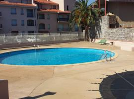 appartement T2 Port d'Avall - 4PA44, hotel with pools in Collioure