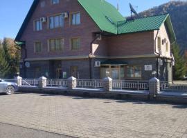 Biryuzovaia Katun' Hotel, self catering accommodation in Manzherok