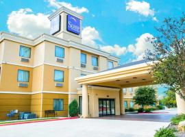 Sleep Inn and Suites New Braunfels, hotel near Comal River Tubing, New Braunfels