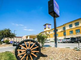 Sleep Inn & Suites near Palmetto State Park, hotel in Gonzales