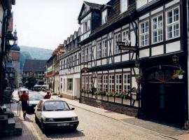 Hotel garni Weißes Roß, hotel a Stolberg i. Harz