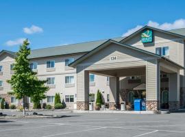 Quality Inn & Suites at Olympic National park, готель у місті Сквім
