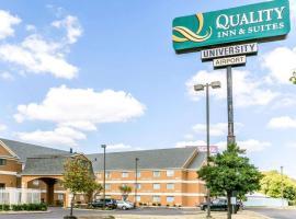 Quality Inn & Suites University/Airport, hotel near Louisville Airport - SDF, Louisville