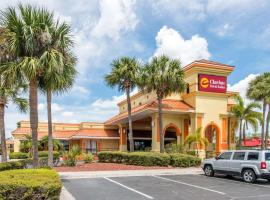 Clarion Inn & Suites Kissimmee-Lake Buena Vista South, hotel near Kissimmee Value Outlet Shops, Kissimmee