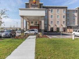 Comfort Inn & Suites Airport North, hotel in Calgary