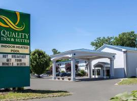 Quality Inn & Suites Danbury near University, hotel Danburyben