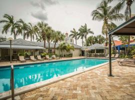 Quality Inn & Suites Ft. Lauderdale Airport Cruise Port South, hotel cerca de Aeropuerto internacional de Fort Lauderdale Hollywood - FLL,