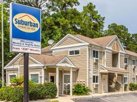 Suburban Extended Stay Abercorn, motel in Savannah