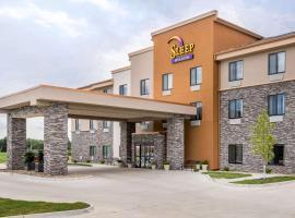 Sleep Inn & Suites West Des Moines near Jordan Creek, hotel in West Des Moines