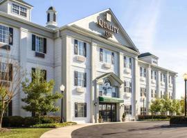 Quality Inn near Seymour Johnson AFB, hotel in Goldsboro