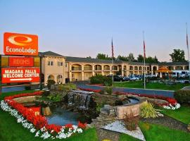 Econo Lodge at the Falls North, hotel in zona Aeroporto Internazionale di Niagara Falls - IAG,