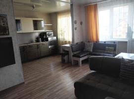 Apartment on Shvartsa 2, hotel near Botanicheskaya Metro Station, Yekaterinburg